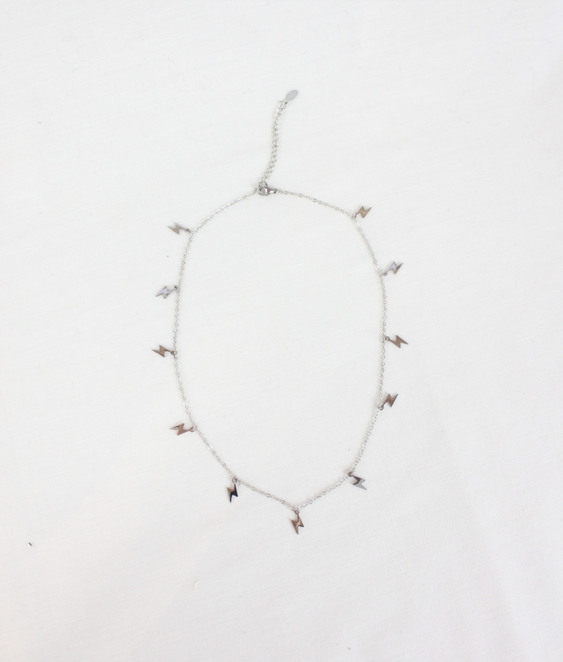 COLLIER ONFRY - ARGENT