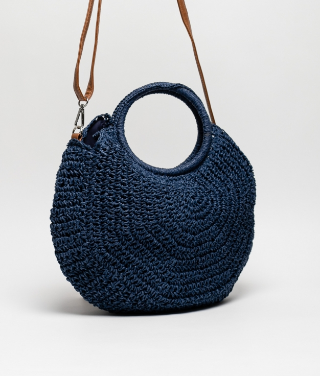 BOLSO RAFIA HIMELDA - BLUE MARINE