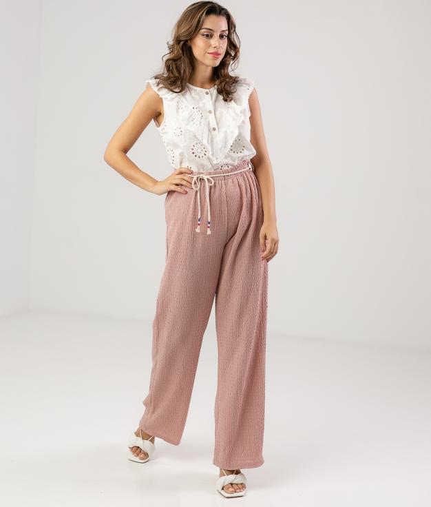 Pantalón Kinbese - Rosa