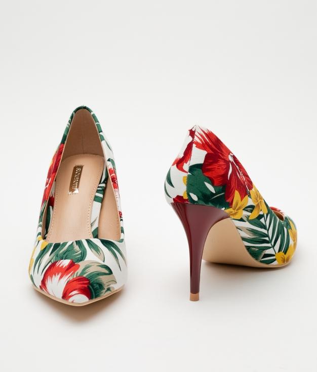 Zapato de Tacón Ninove - Blanco