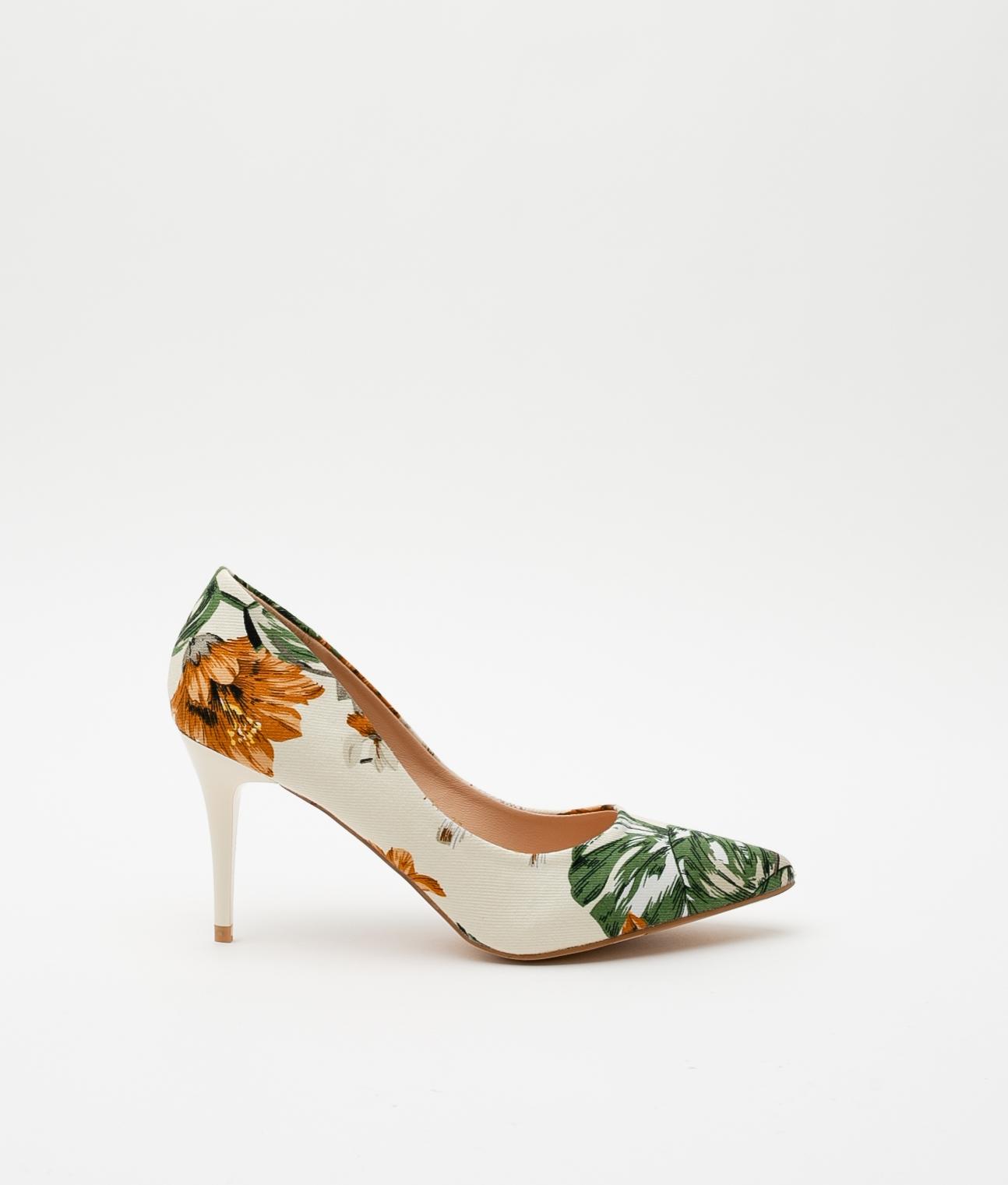 Zapato de Tacón Denize - Beige