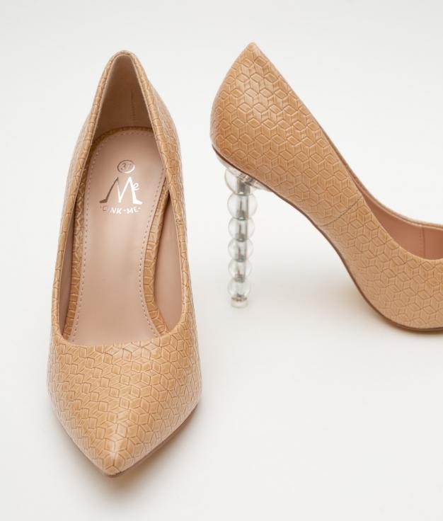 Zapato de Tacón Bertrix - Beige