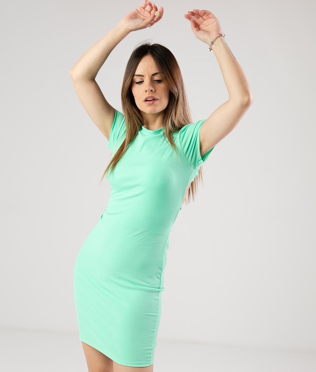 DRESS YUNGA - GREEN
