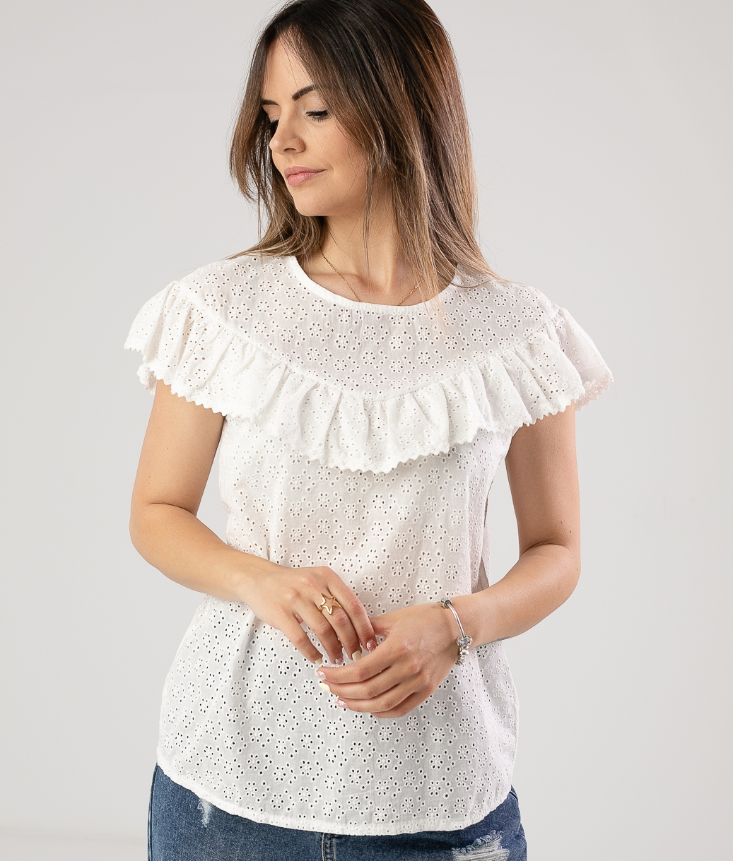 Blusa Viento - Blanco