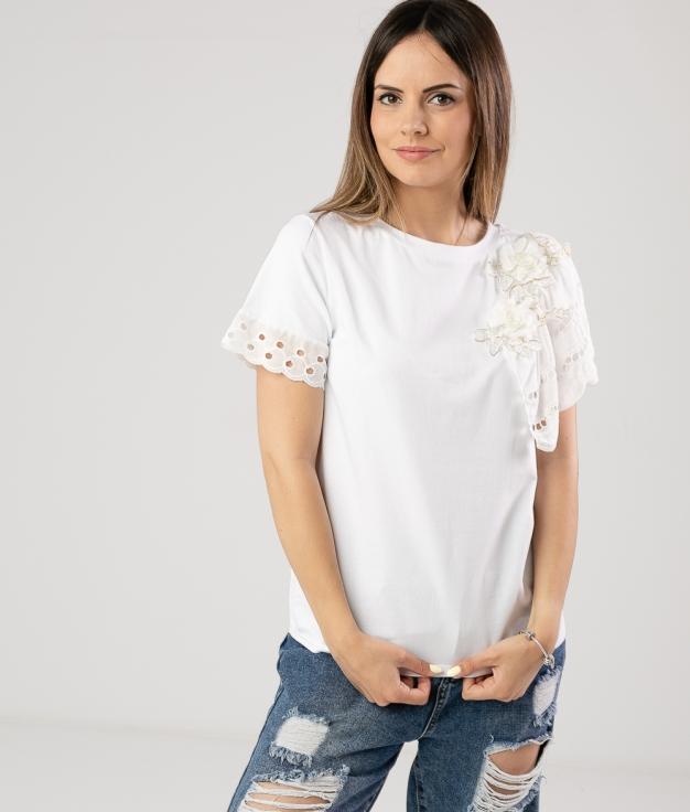 T-shirt Mader - Blanc