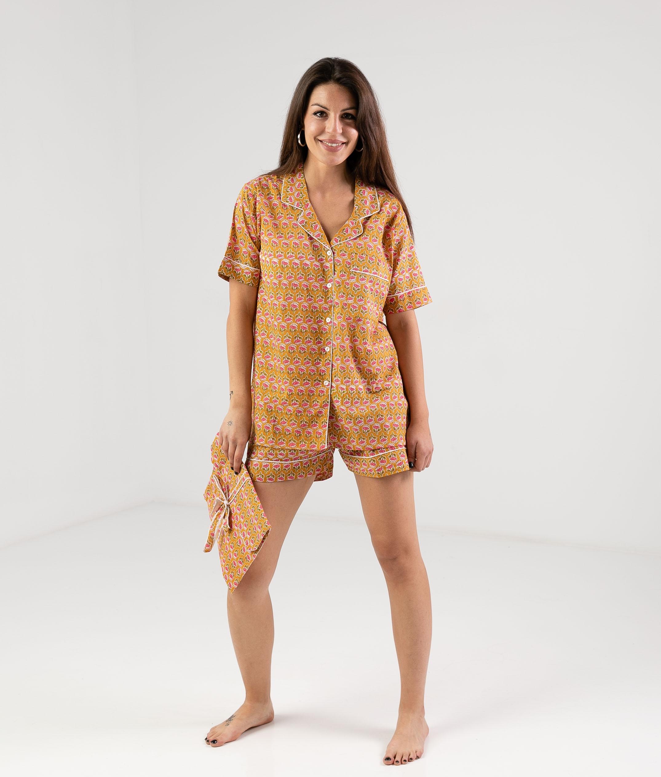 Pijama Ritrea - Mustard