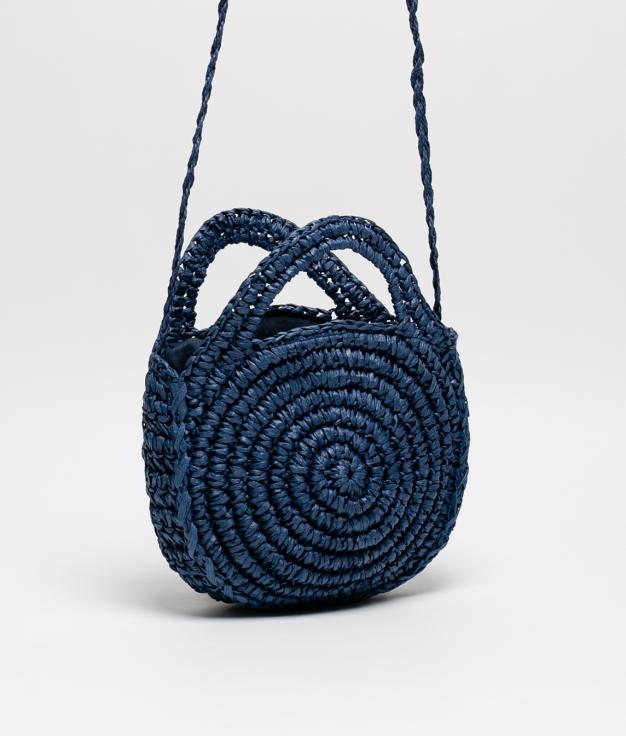 Bolsa Cora - azul marinho
