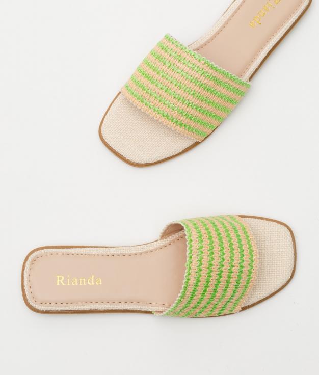 SANDALIA JAWI - GREEN