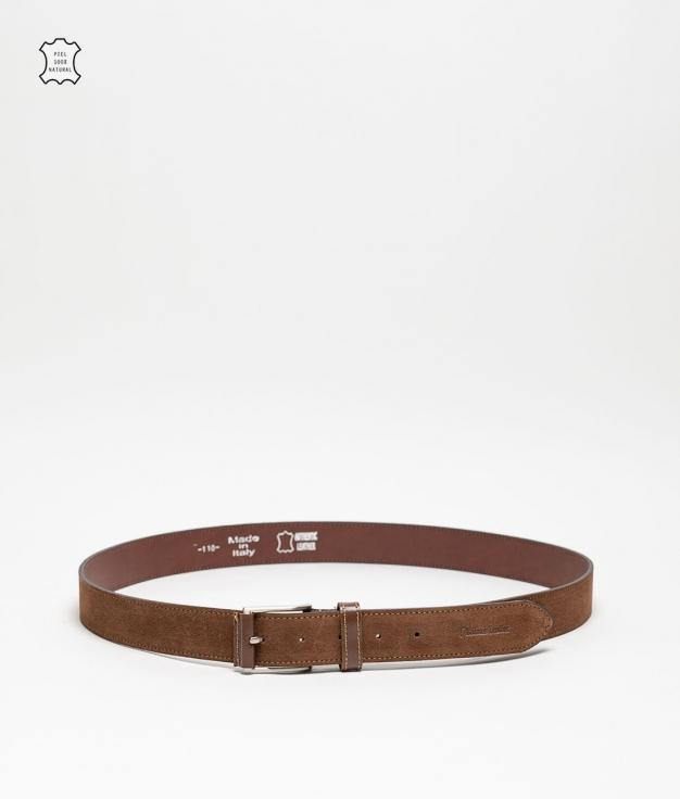 Cinturón piel Dora - marron