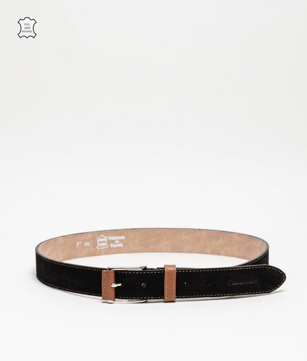Cinturón piel Dora - noir