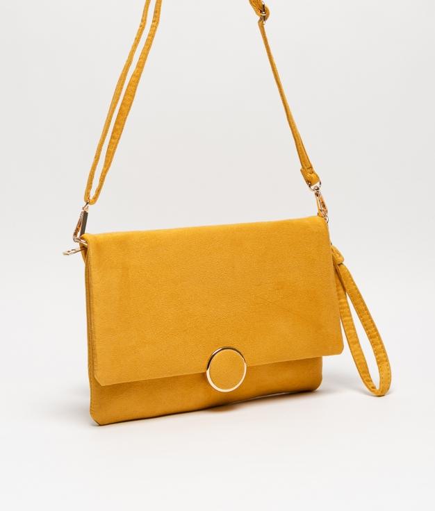 Portefeuille à main NIMA - jaune