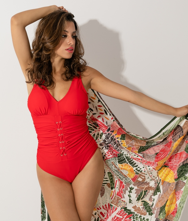 SWIMSUIT SIRTO - RED