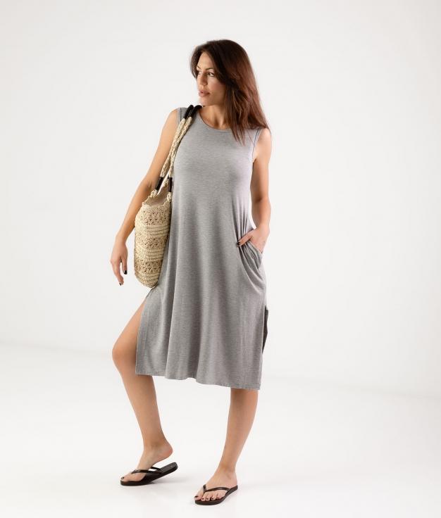 Vestido Ela - Grey