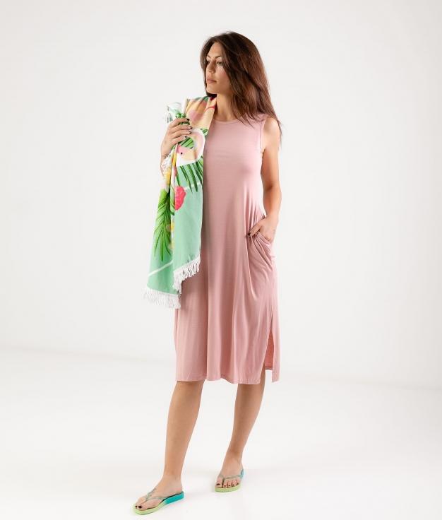 Vestido Ela - Rose