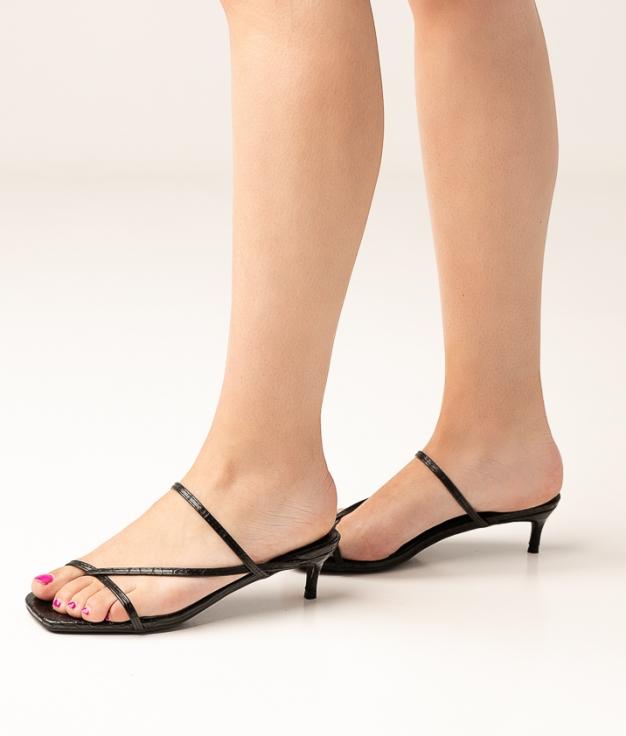 High Sandal Cayetana - Black