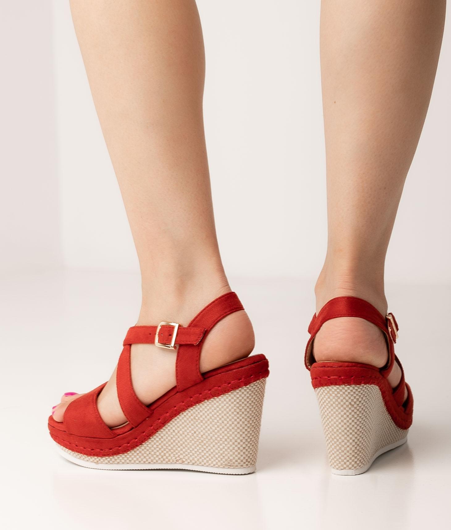 Wedge Heel Beloa - Red