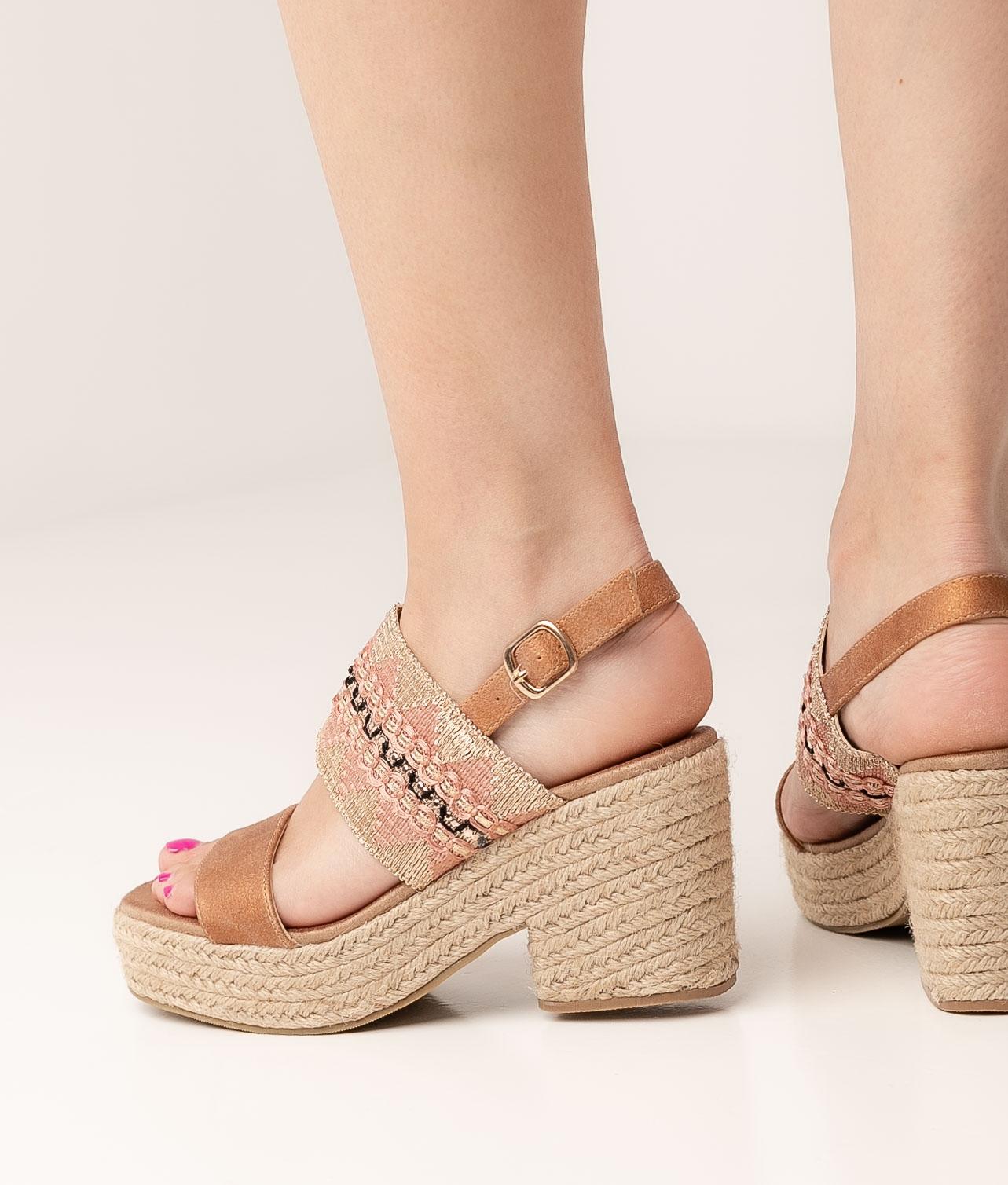 High Sandal Mecta - Pink