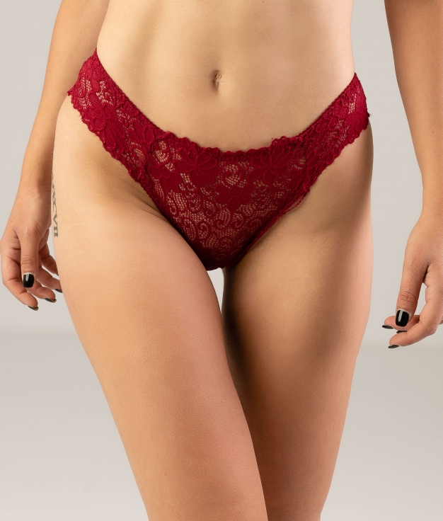 CRILLER KNICKERS - MAROON