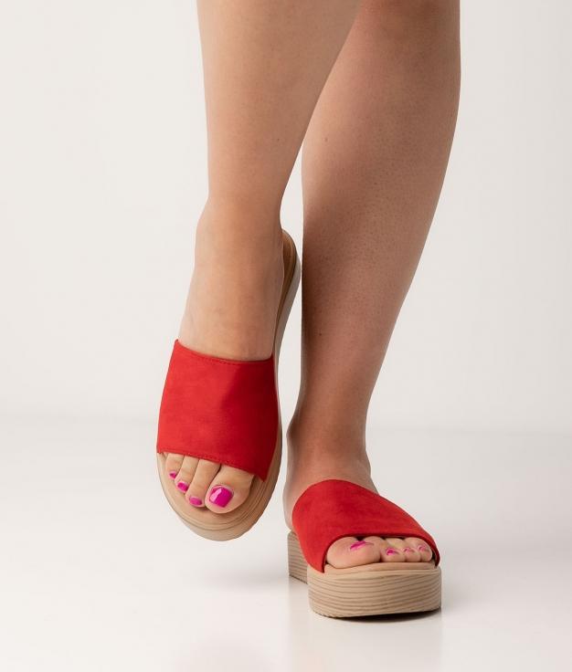 Sandalia Disel - Rojo