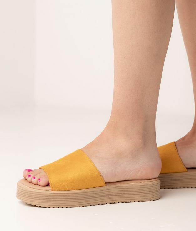 Sandalia Disel - Amarelo