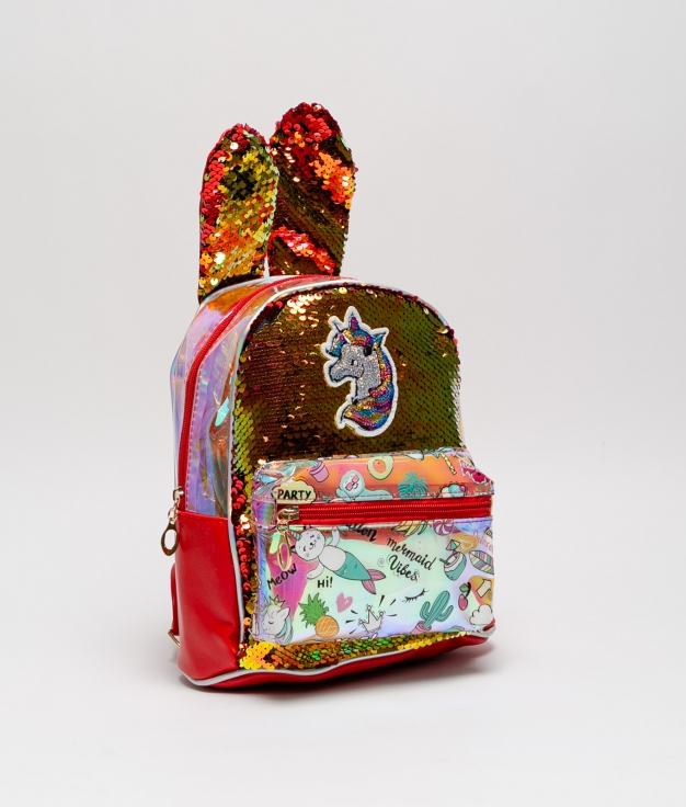 UNIQUE BACKPACK - RED