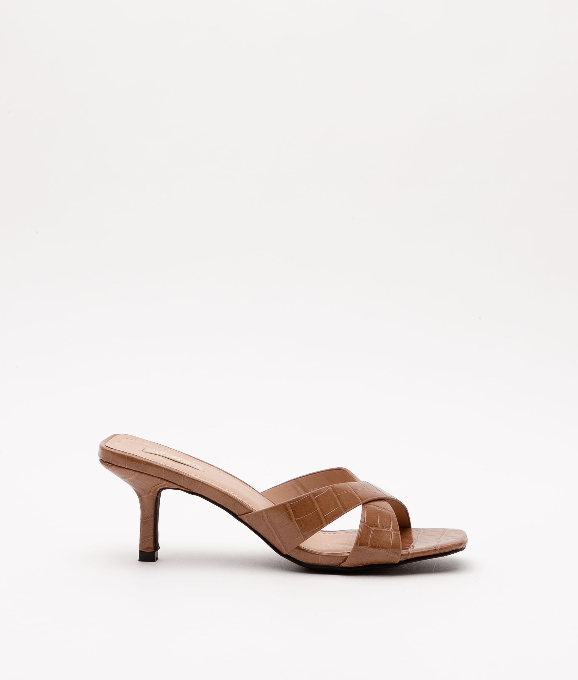 Sandalia de Tacón Nemet - Camel