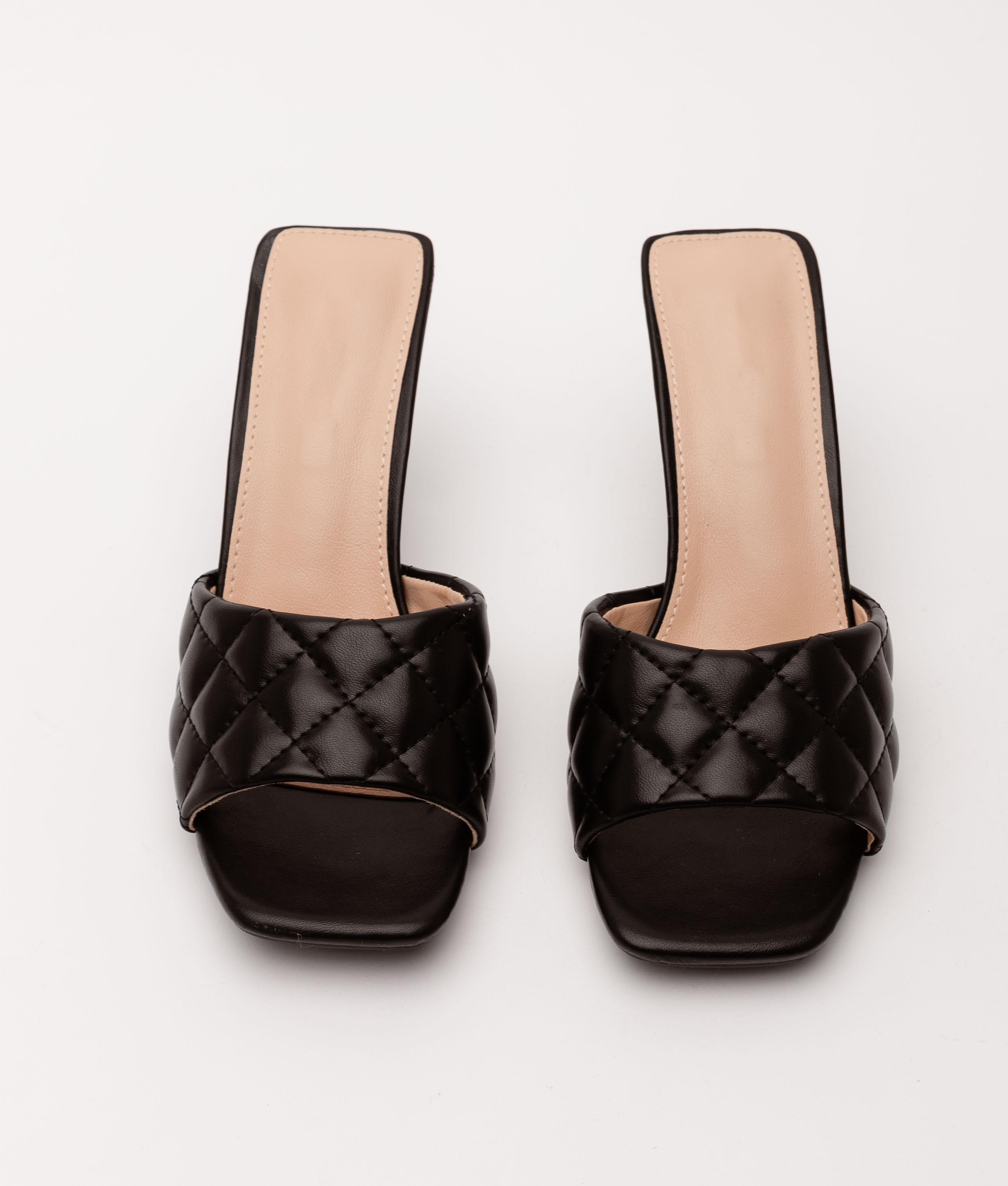 High Sandal Burgas - Black