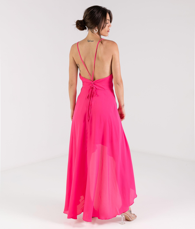 Vestido Curli - Fúcsia