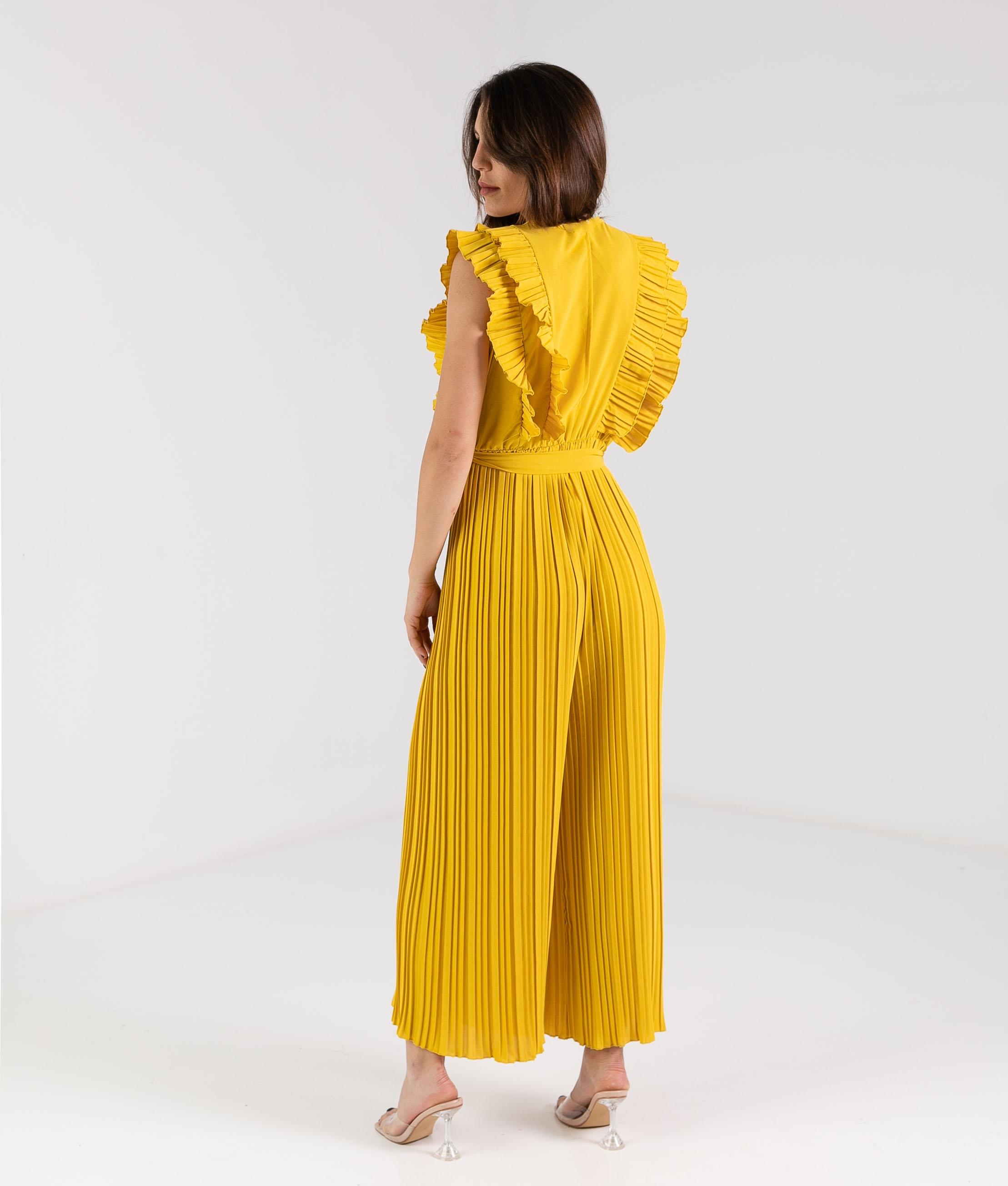 Jumpsuit Foldre - Yellow