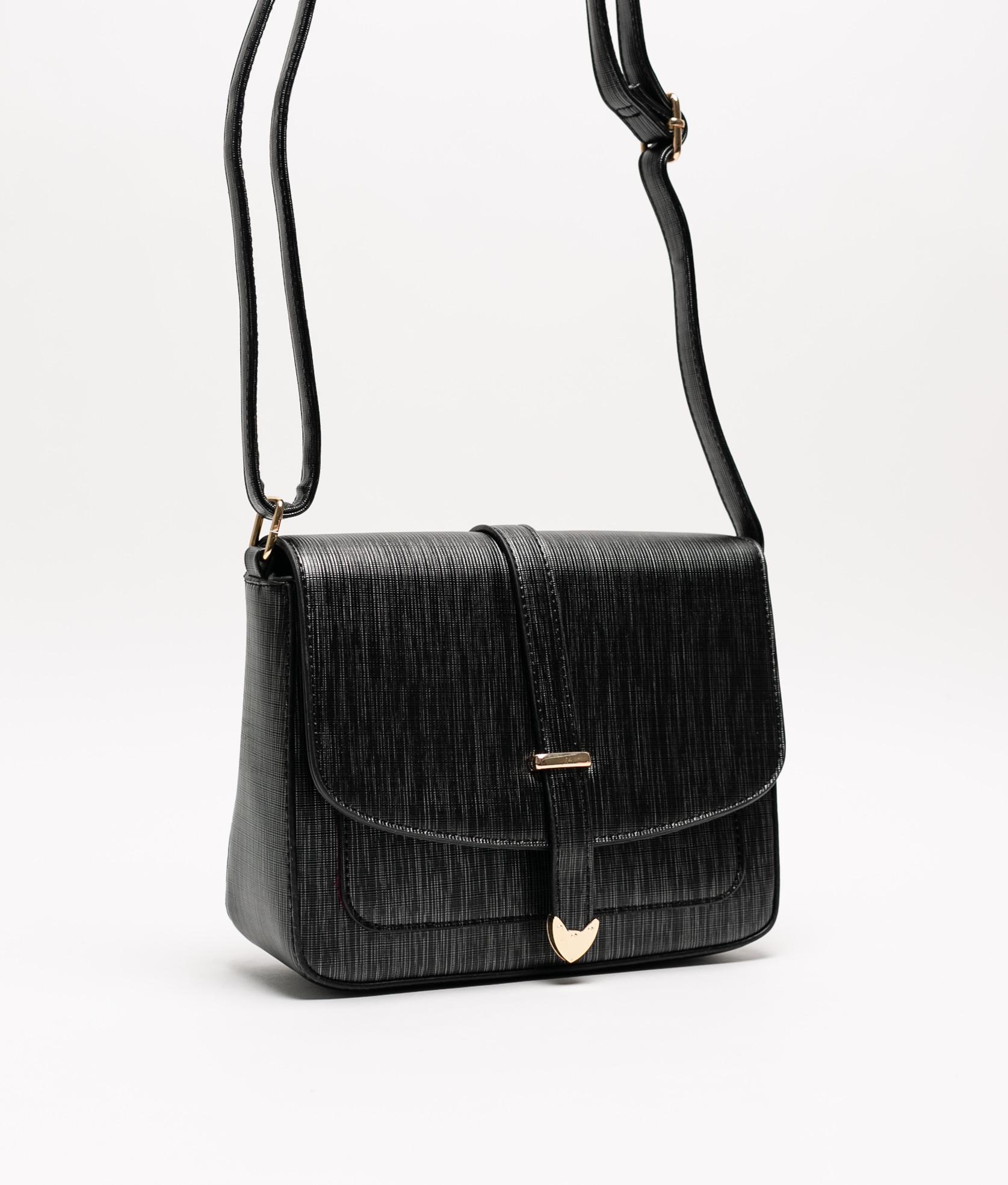 Tina shoulder bag - Black