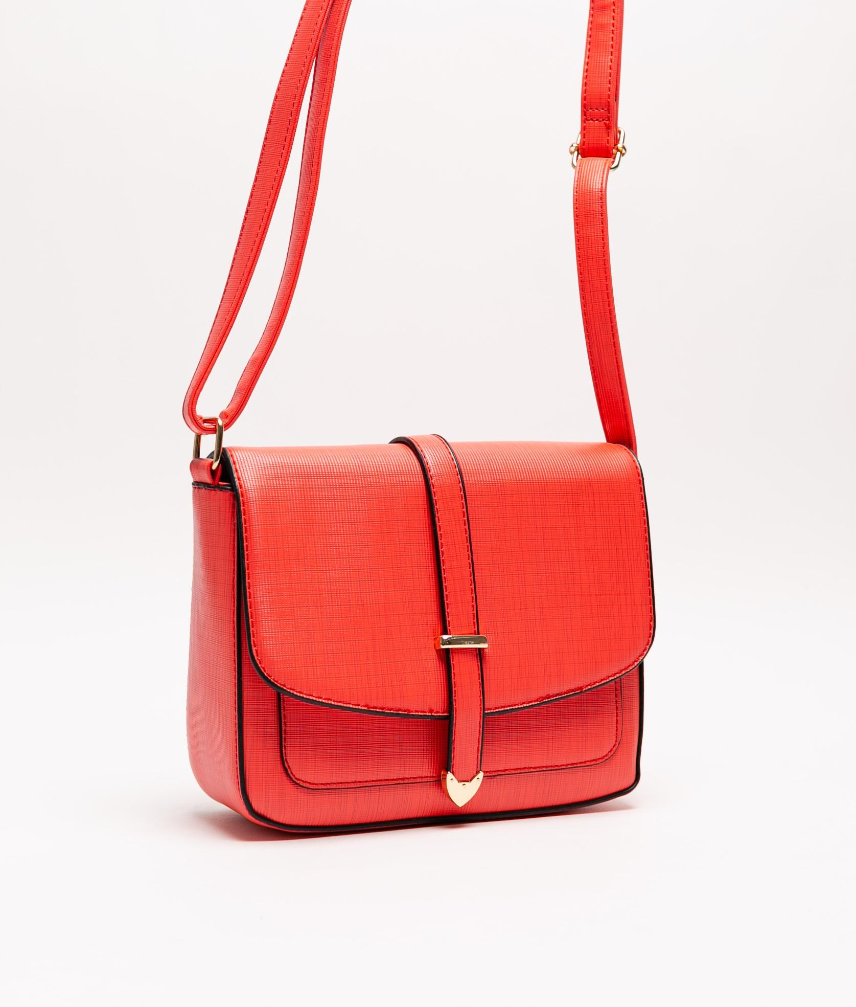 Tina Shoulder Bag - Red