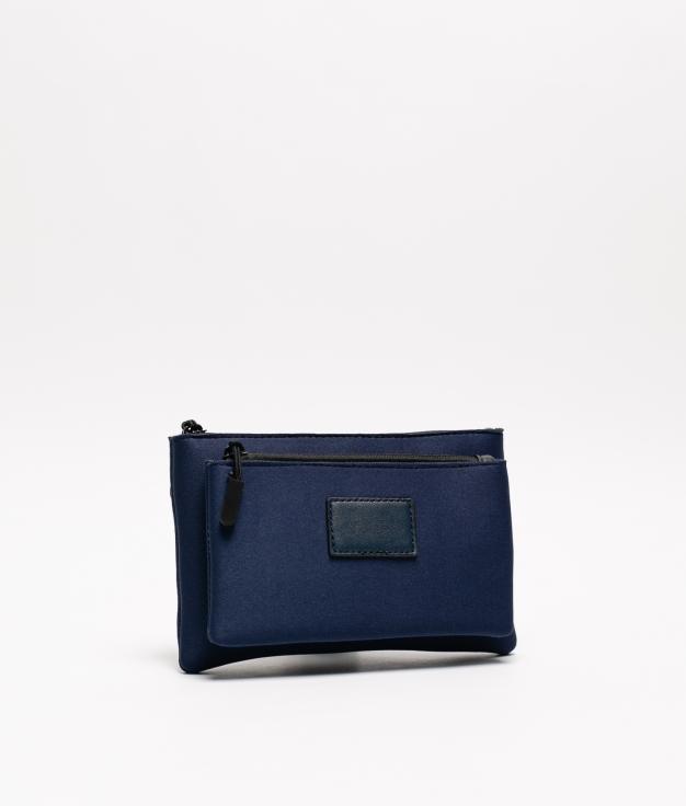 bolsa de neoprene - azul marinho
