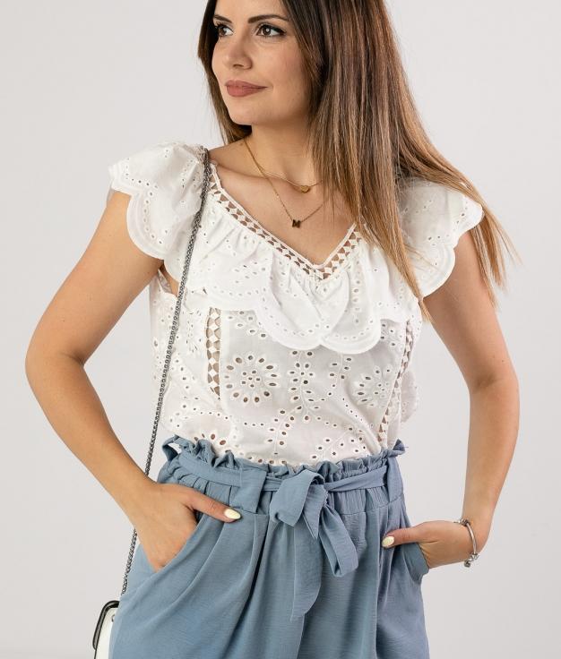 Blusa Escodar - Blanco