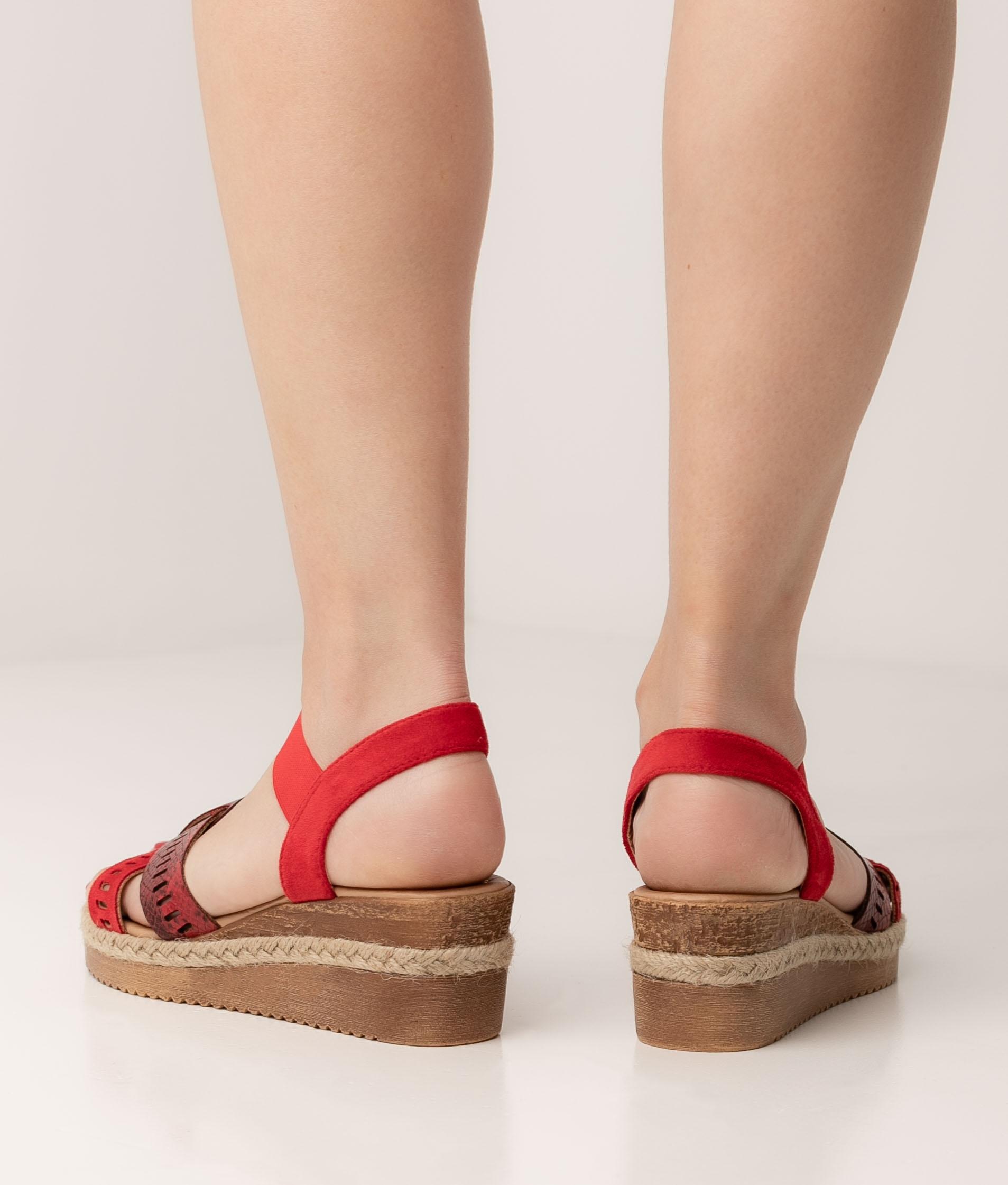 Wedge Heel Semper - Red