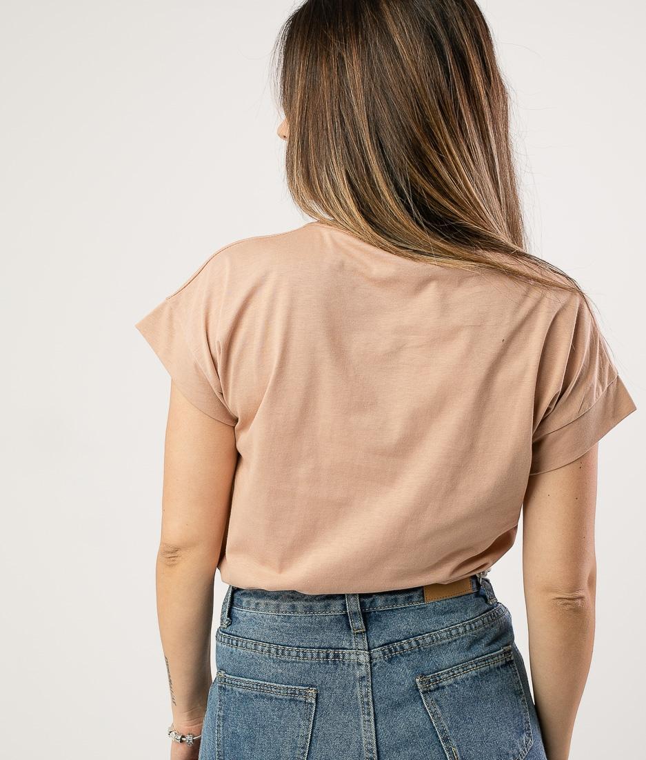 Camiseta Taranis - Beige
