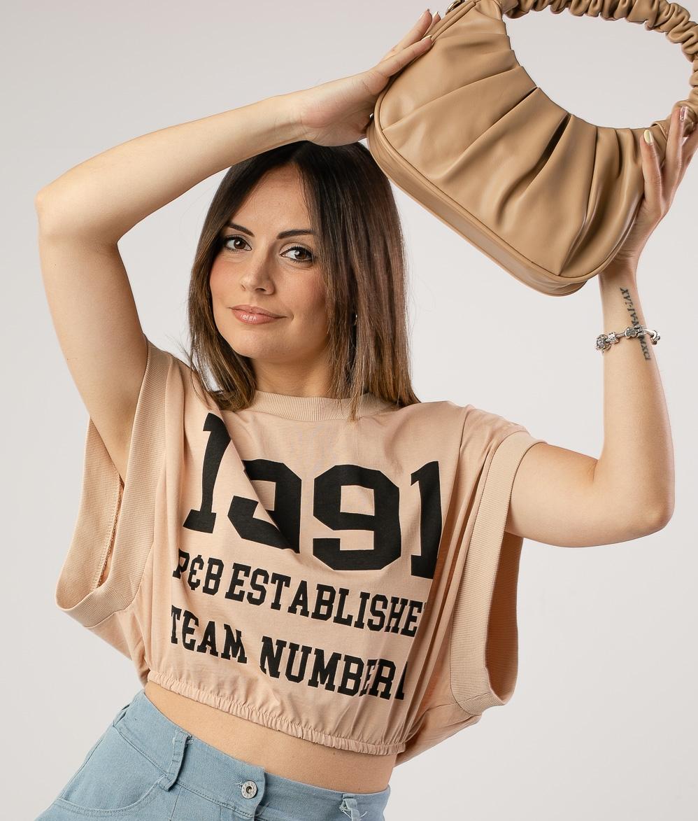 Camiseta Losan - Beige