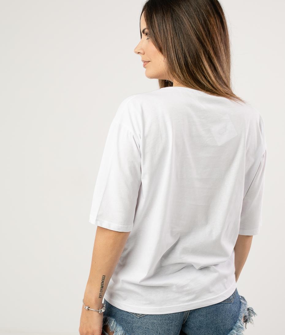 Camiseta Saria - Blanco