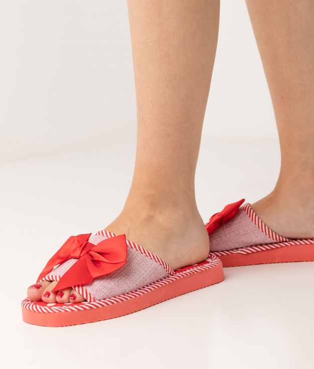 LEXI SLIPPERS - RED