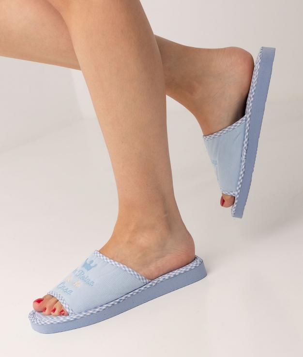 RENEA SLIPPERS - BLUE