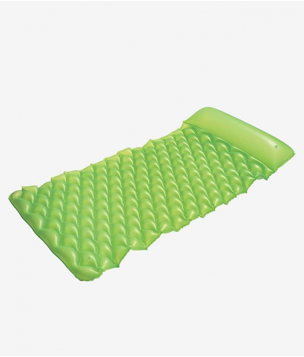 COLCHONETA HINCHABLE ENRROLLABLE - GREEN