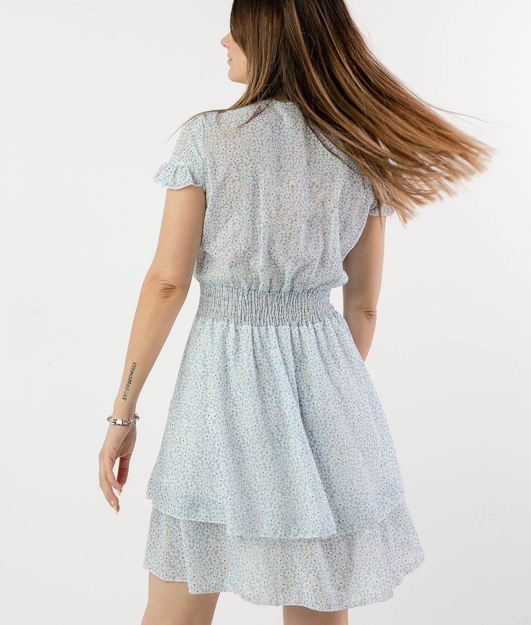 SEPERE DRESS - BLUE
