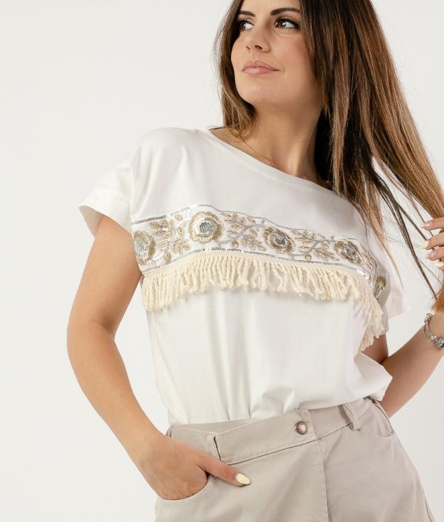 Camiseta Yiburi - Blanco