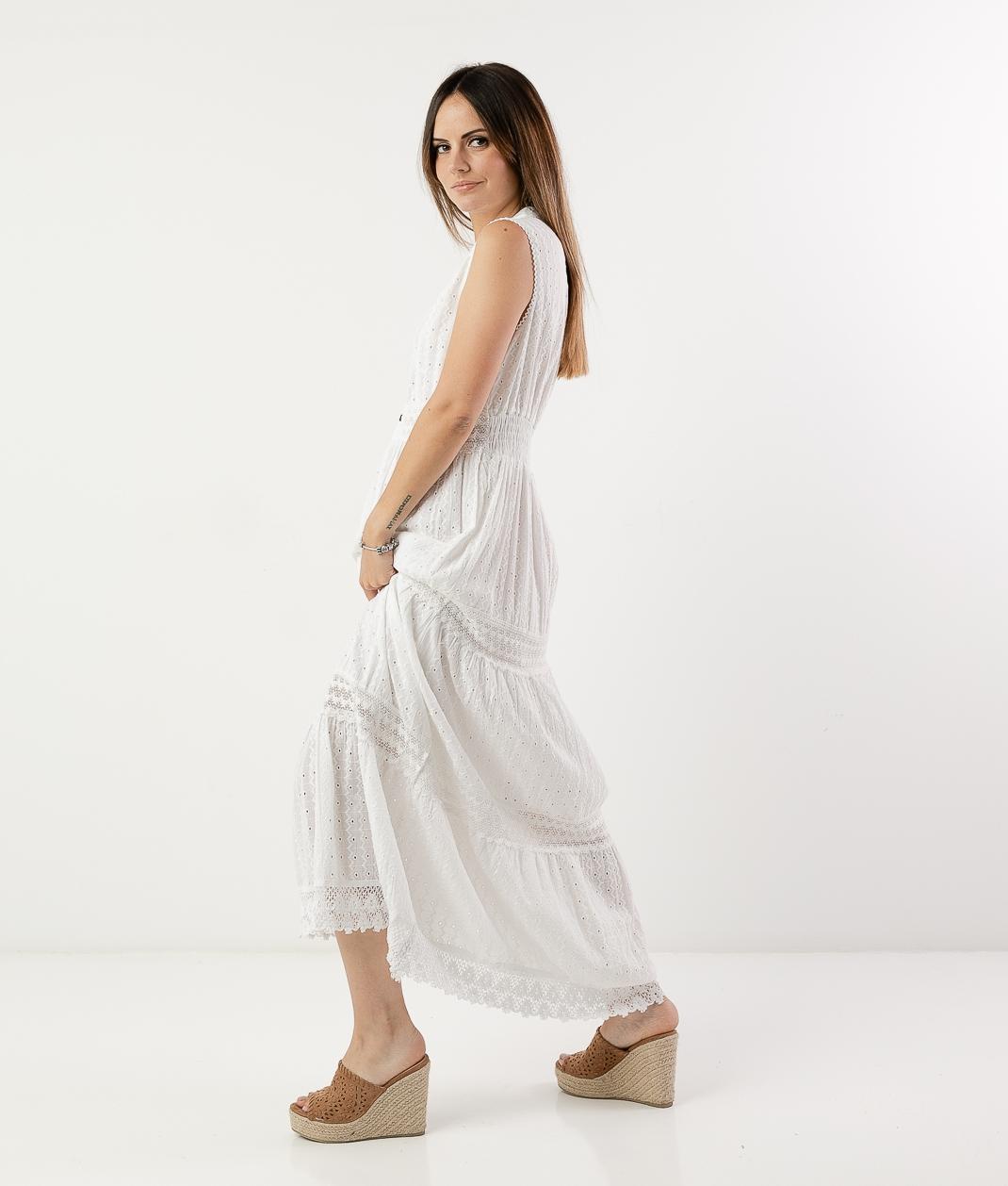 DAIRE DRESS - WHITE
