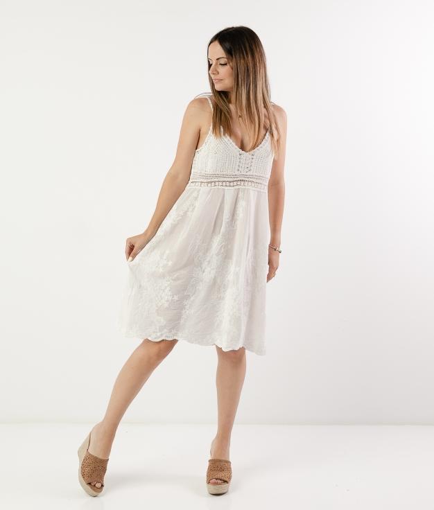 GAUTI DRESS - WHITE