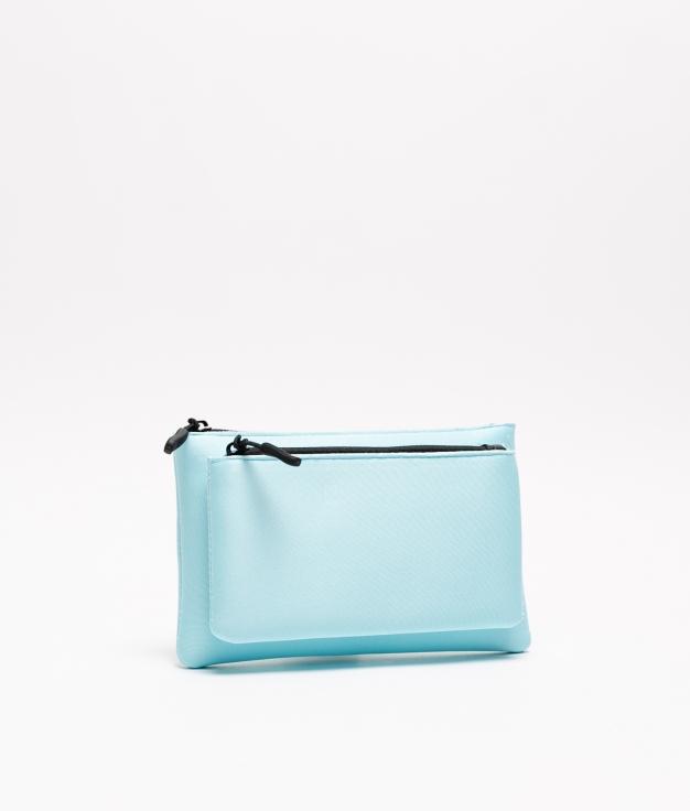 bolsa de neoprene - azul claro
