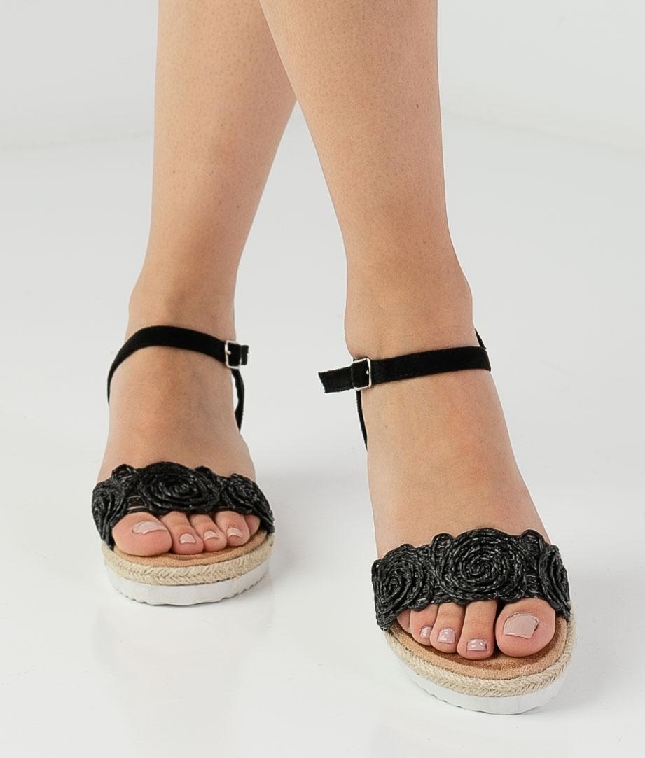 Wedge Heel Mitar - Black