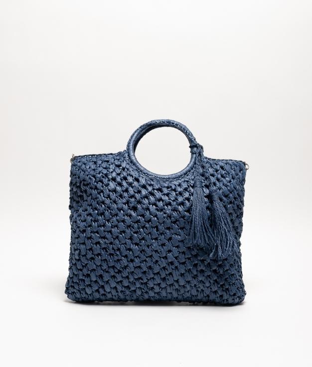 TAMBO SHOULDER BAG - NAVY BLUE