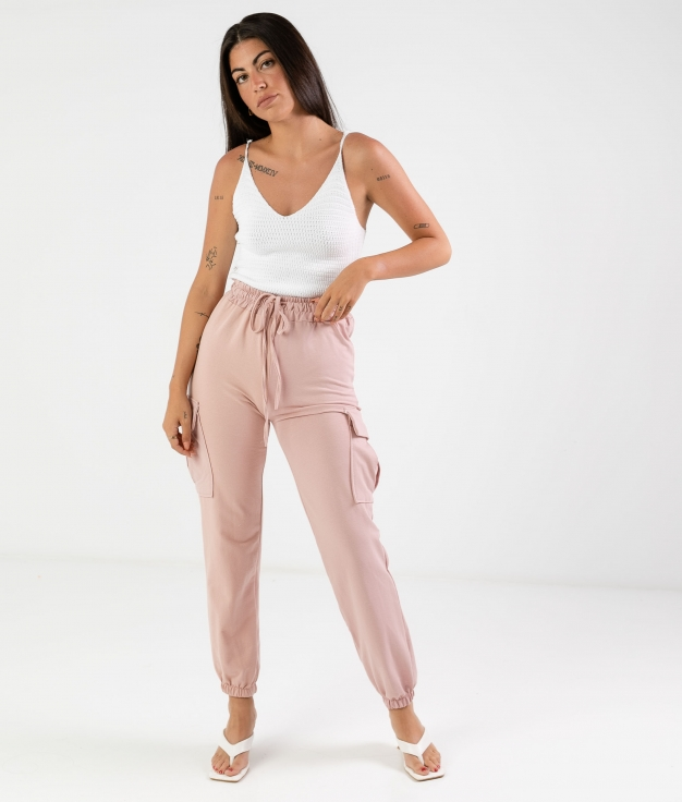 PIRREL TROUSERS - PINK