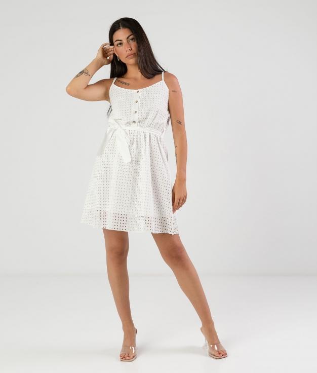 Vestido Alique - Blanco