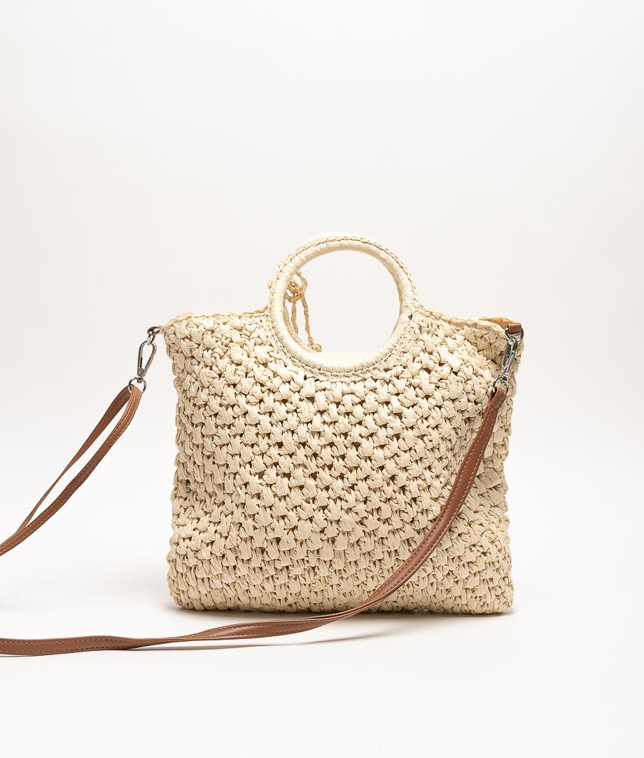 TAMBO SHOULDER BAG - BEIGE